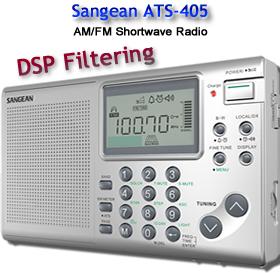 Sangean ATS-405 World Band Radio   RadioLabs