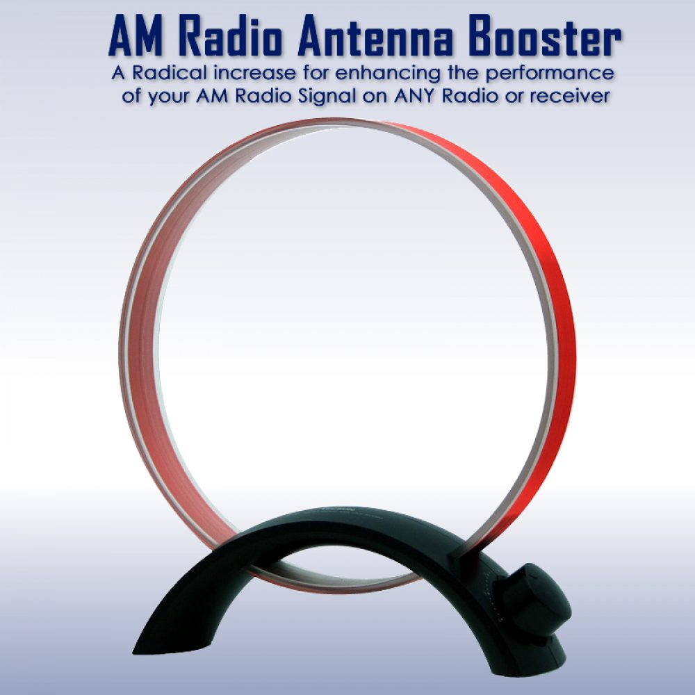 Antenna - AM Radio Reception Booster Antenn