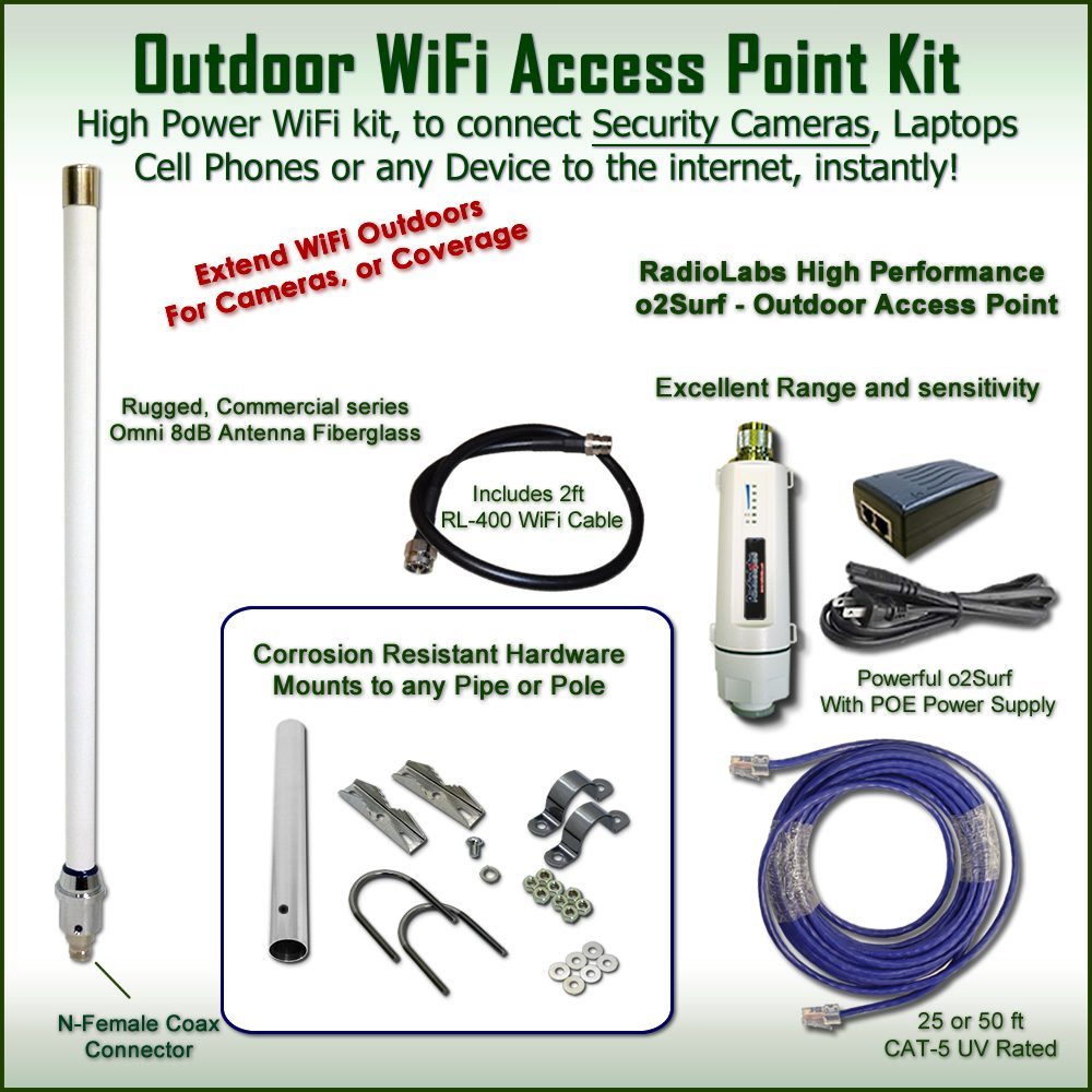 WiFi Security range boost- Increase range to outdoor cameras
