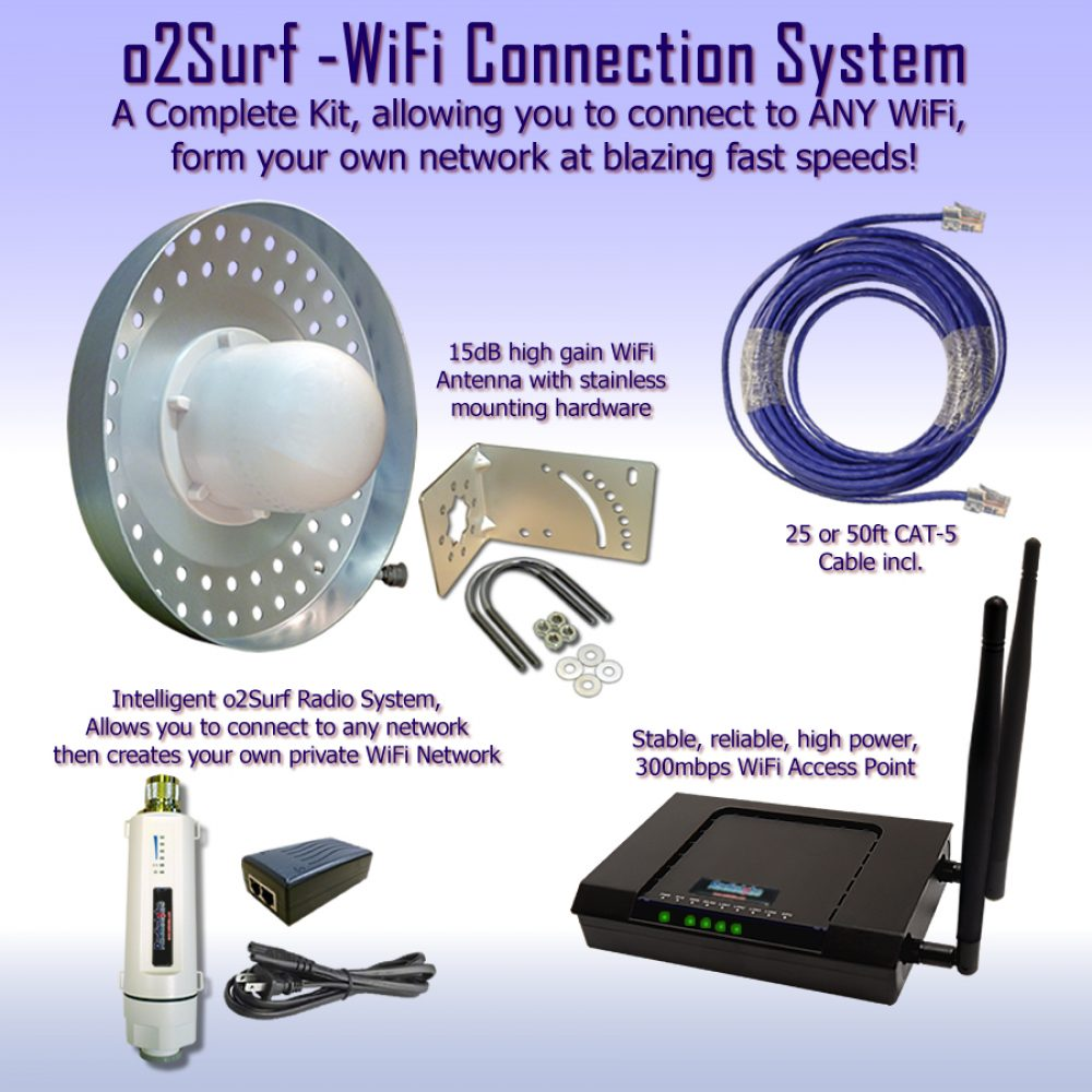 Connect WiFi to any building on your property - WiFi Extender
