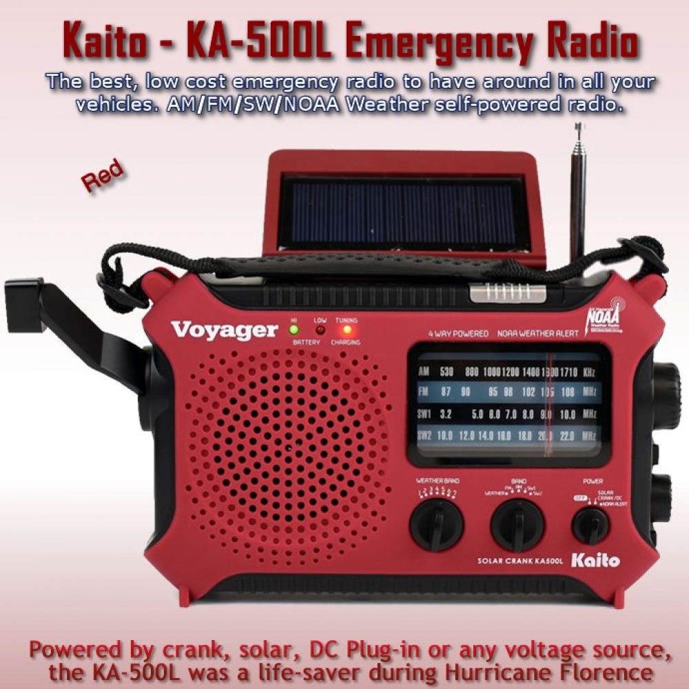 KA-500L Kaito Emergency Portable Radio