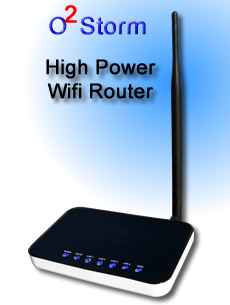 o2Storm High Powered Router