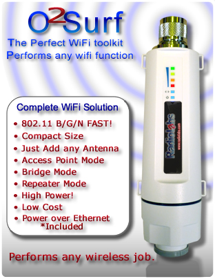 High Power WiFi Access Point - Repeater or bridge / Client