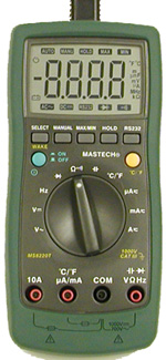 Digital Multimeter with PC Interface
