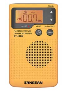 Sangean Pocket Weather Radio