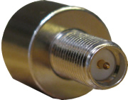 assembled view of RP-SMA Female type WiFi coaxial connector