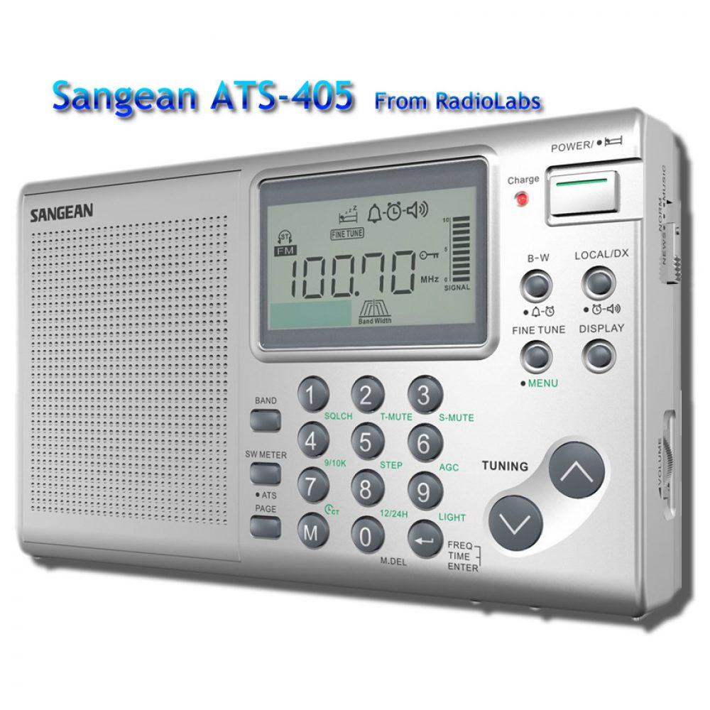 Sangean ATS-405 Shortwave Radio