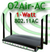 o2Air-AC - High power 802.11AC router