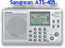 Sangean ATS-405 AM/FM/SW WorldBand Receiver
