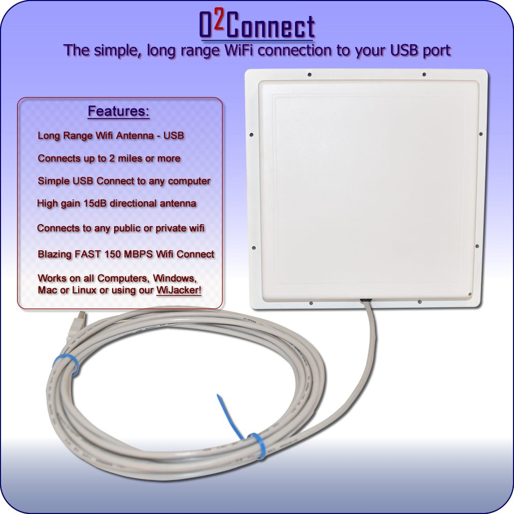 Long Range USB WiFi Antenna - RadioLabs