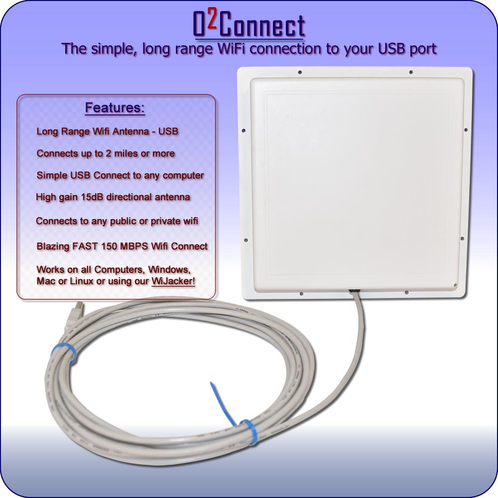 Usb Wifi Antenna Long Range Directional Radiolabs