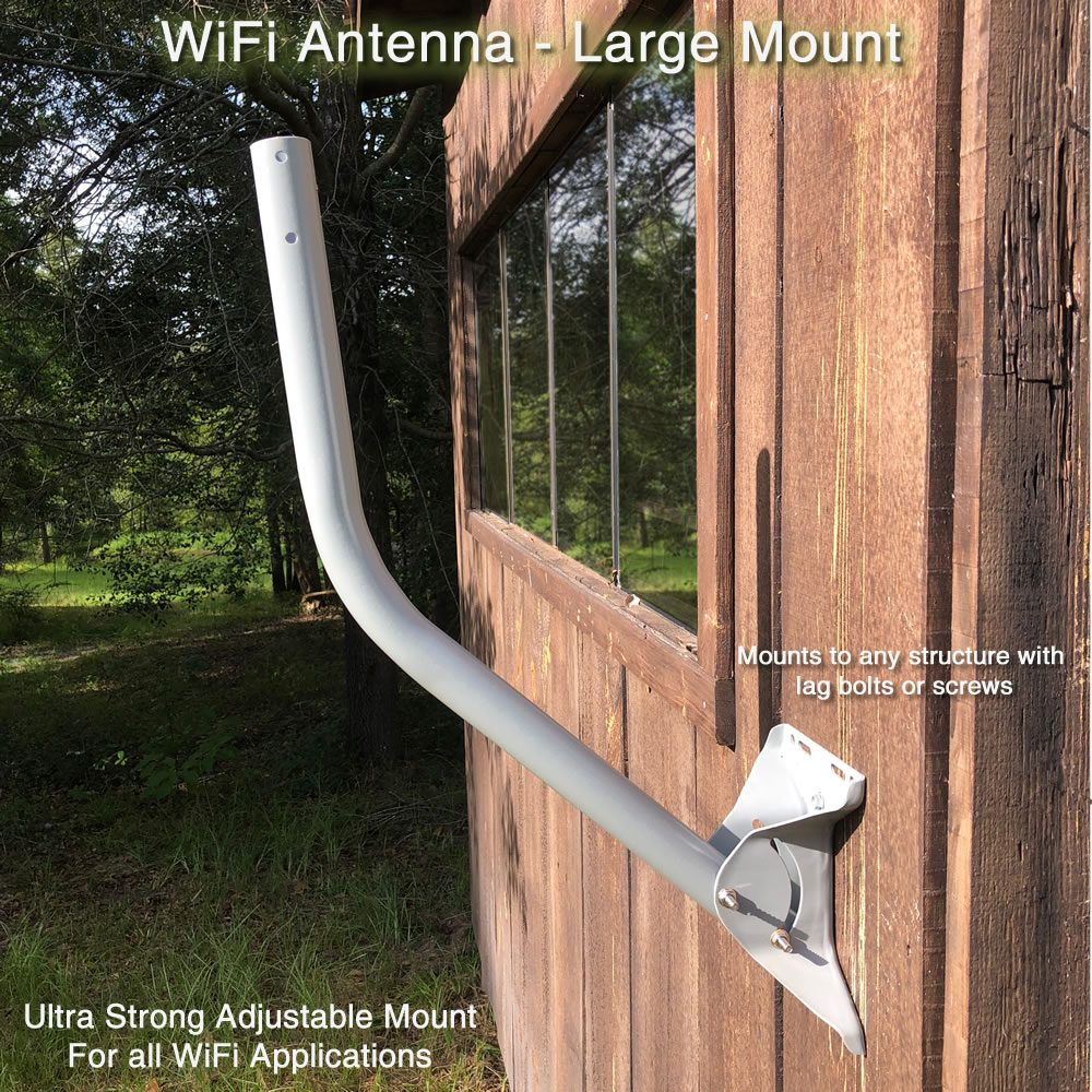 WiFi Antenna Mount for Wireless Installation