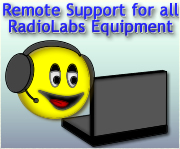 RadioLabs Remote Support available